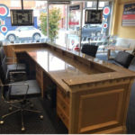 Estate Agent's counter