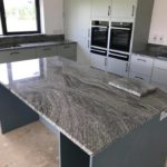 Viscount White Granite island worktop