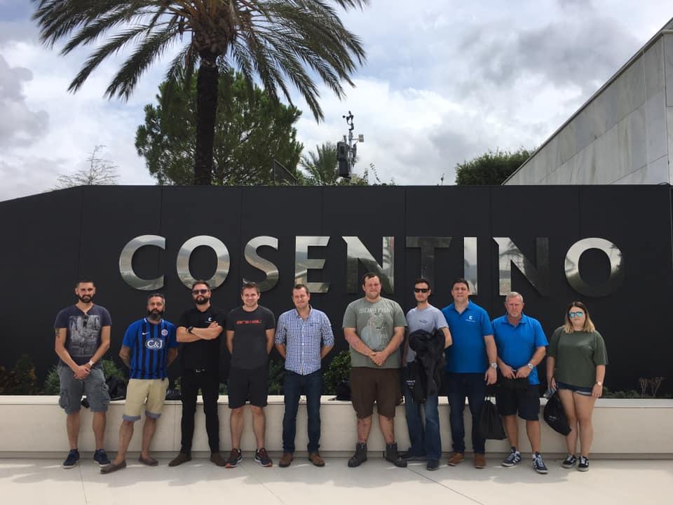Cosentino trip 2019