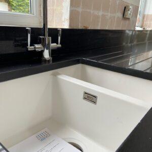 Black Shimmer Sink
